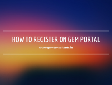 How to register on gem portal?